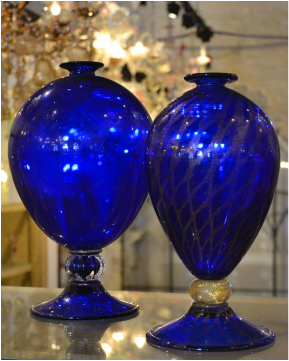 Ex Chiesa Santa Chiara Murano, Real Murano Glass, Where to shop for Murano Glass, Murano Glass Design, 1950's Murano Glass, Gold Leaf Murano Glass, Murano Glass Vases, History of Murano Glass