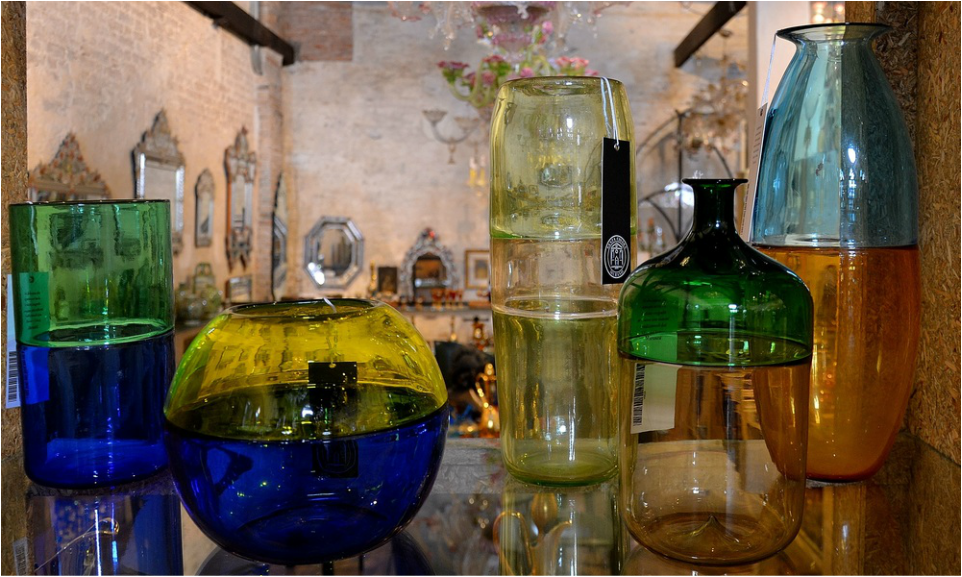 Murano Glass Vases, Incalmo Murano Glass, Art Glass Murano, Modern Murano Glass, Shopping for Murano Glass, Ex Chiesa Santa Chiara, Authentic Murano Glass