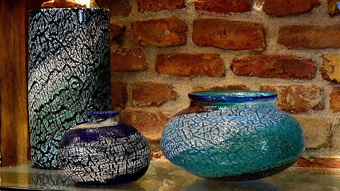 Murano Glass Vases, Authentic Murano Glass Vases, Modern Murano Glass Vases, Murano Glass Vases at Ex Chiesa Santa Chiara, Modern Murano Glass Vases, Green Murnao Glass Vase, Blue Murano Glass Vase, Venetian Glass Vases
